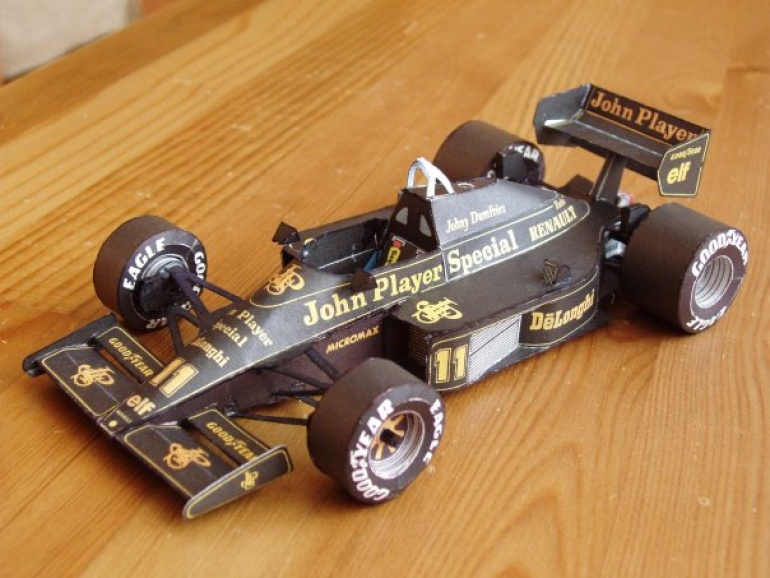 Lotus 98T, 1986 Johnny Dumfries