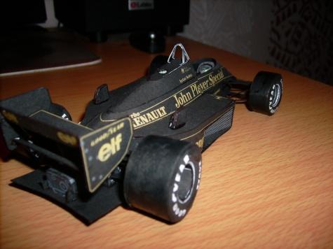 Lotus 98T A.Senna