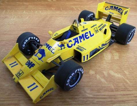 Lotus 99, Satoru Nakajima, 1987