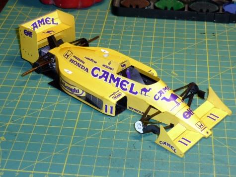 Lotus 99T - S. Nakajima - 1987 - 24 Hod