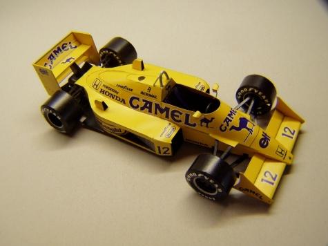 Lotus 99T, 1987, A. Senna