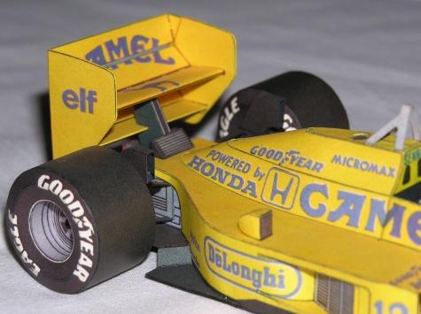 Lotus 99T Honda
