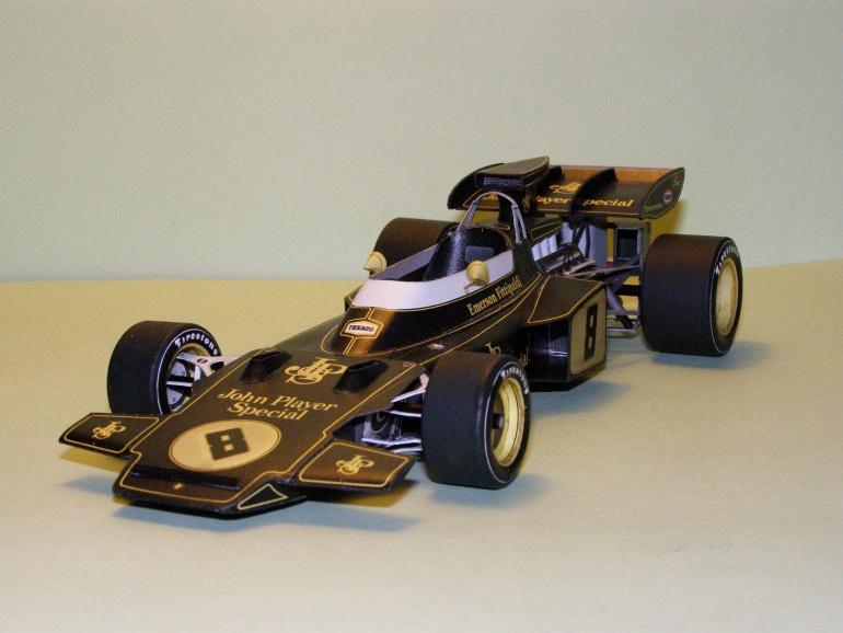 Lotus Ford 72D