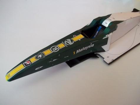 Lotus T127 - Bahrain GP, Heikki Kovalainen (2010)