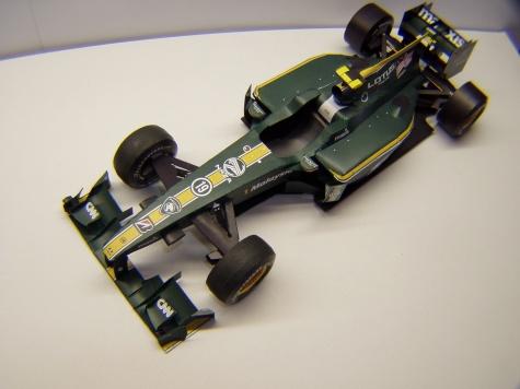 Lotus T127, 2010,  F. Fauzy