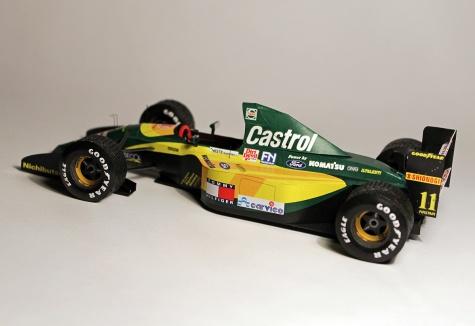 Lotus 107 - Belgian GP 1992