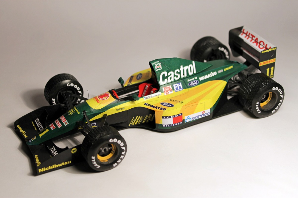 Lotus 107 - Belgian GP 1992