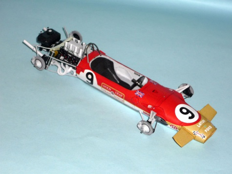 Lotus 49B MKI - Graham Hill - GP Monaka 1968