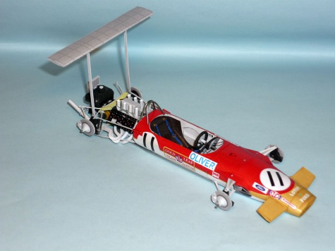 Lotus 49B MKII - Jackie Oliver - GP Mexika 1968