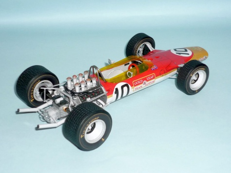 Lotus 49 - Graham Hill - GP Španelska 1968