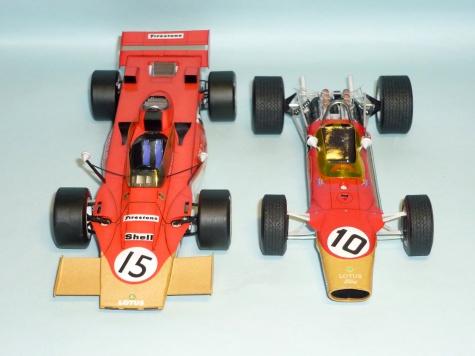 Lotus 49 - Graham Hill - GP Španelska 1968