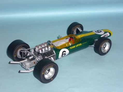 Lotus 49 - Graham Hill - GP USA 1967