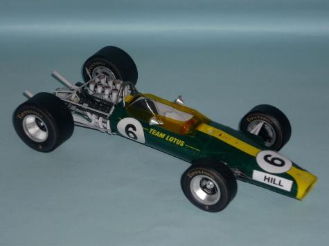 Lotus 49 - Graham Hill - GP USA 1967