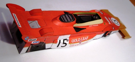 Lotus 56B, Dave Walker, 1971