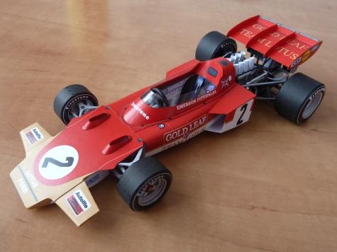 Lotus 72D (1971; Fittipaldi)