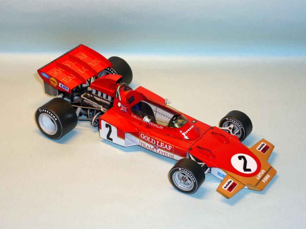 Lotus 72D - Emerson Fittipaldi - GP USA 1971
