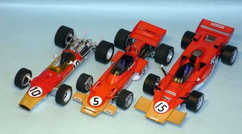 Lotus 72 - Jochen Rint - GP Velké Británie 1970