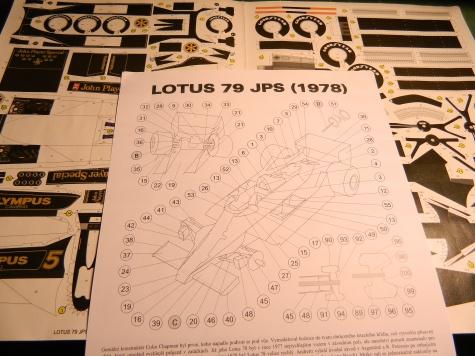 Lotus 79 (1978) - R.V. + P.Š.
