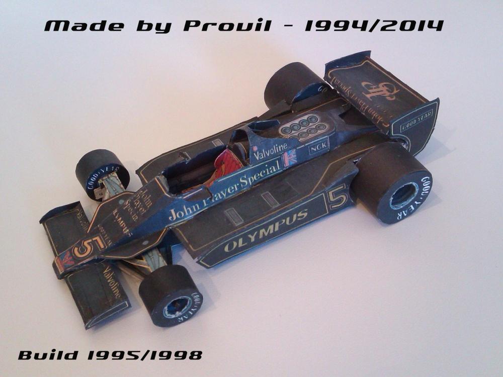 Lotus 79 - (5) Mario Andretti