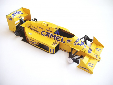 Lotus 99T, 1987 Satoru Nakajima