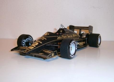 Lotus Renault 97T - A.Senna, GP Portugal 1985
