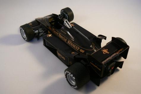 LOTUS RENAULT 97T, A. Senna, GP Portugalska 1985