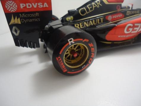 Lotus Renault E22 -  P. Maldonado - 2014