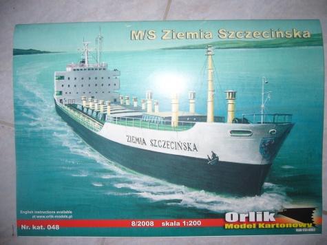 M/S  Ziemia Szczecinska