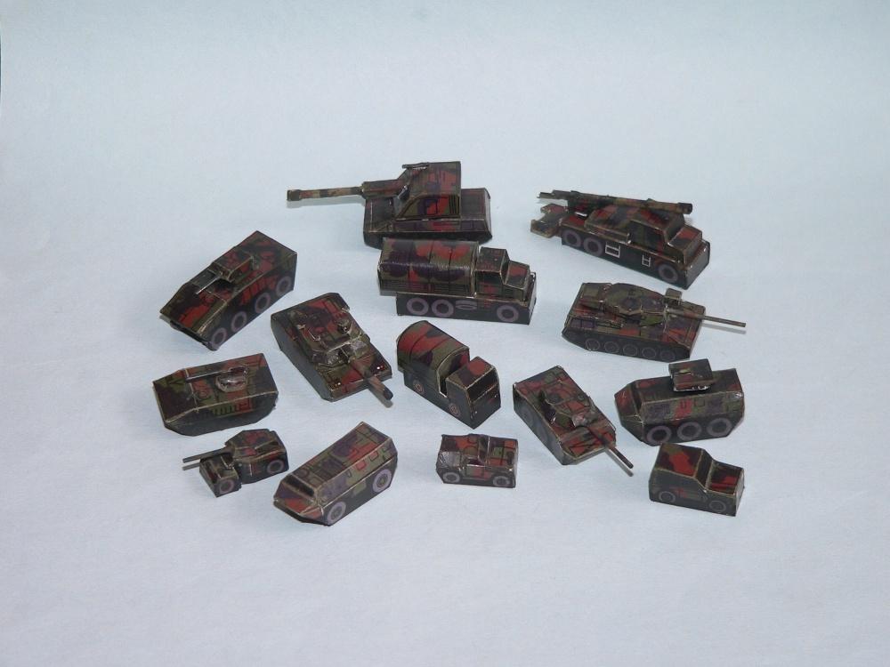 Mikromodely 1 : 250