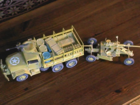 M35 A2 6x6 +bofors 40mm