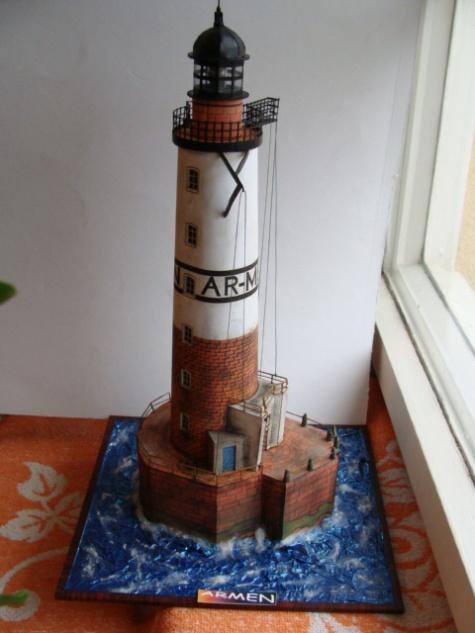 Maquette phare breton
