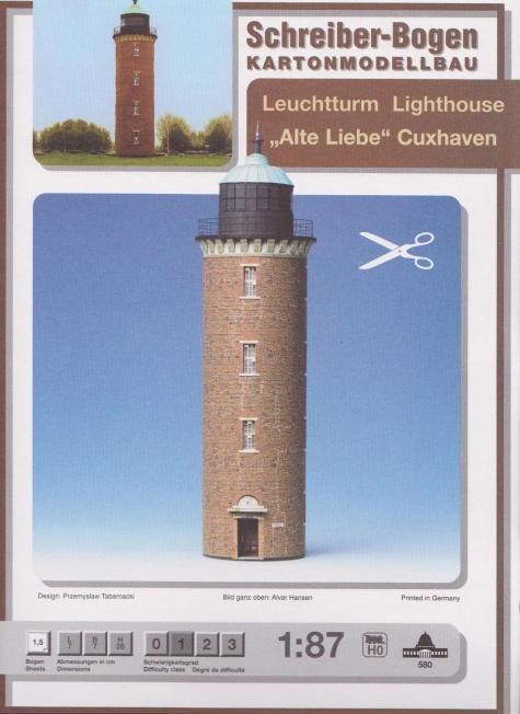 maják Cuxhaven