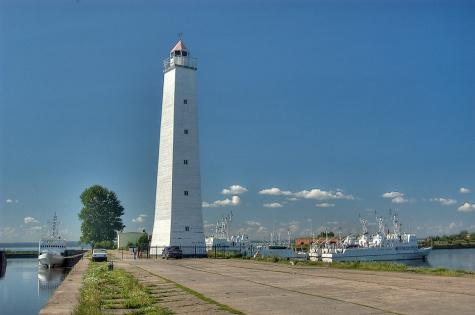 maják Kronstadt - Rusko