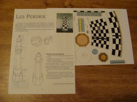 Maják Les Perdrix
