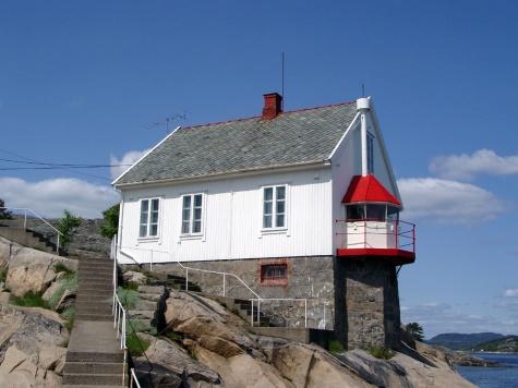 maják Stromtagen - Norsko