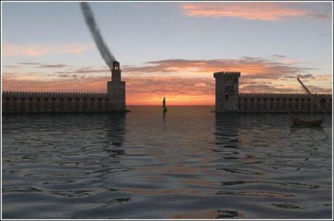 maják Konstantinopol