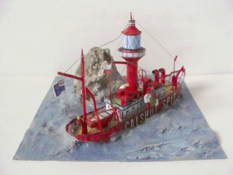 majáková loď Calshot Spit