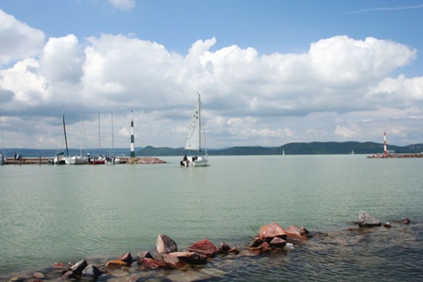 majáky Balatonu - Maďarsko
