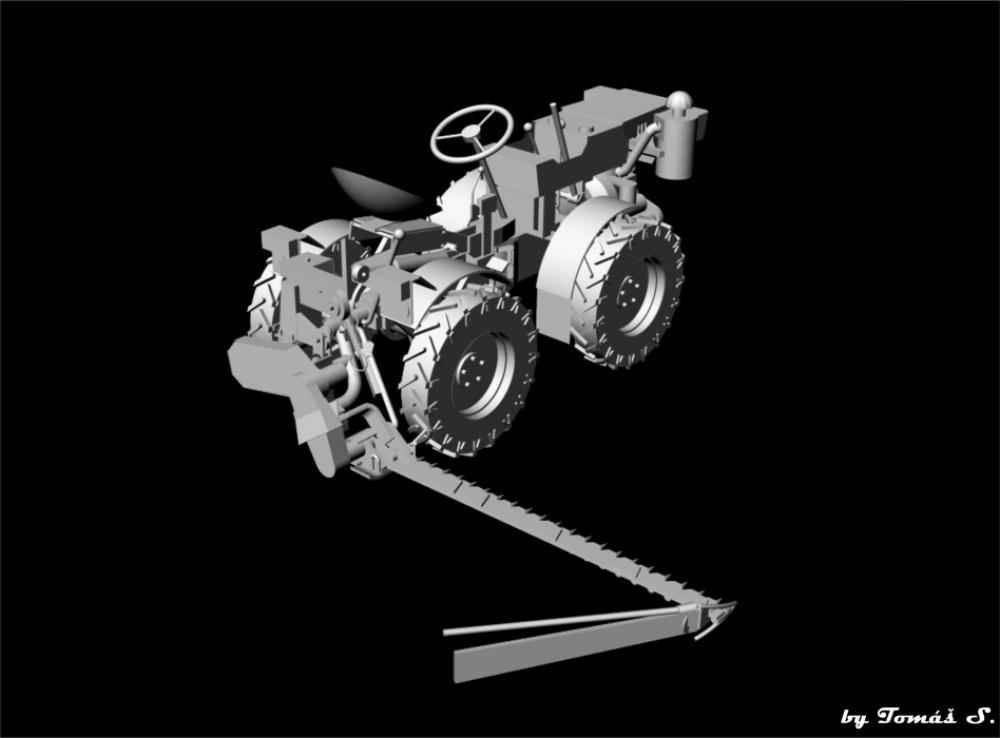 Malotraktor TZ - 4K - 14