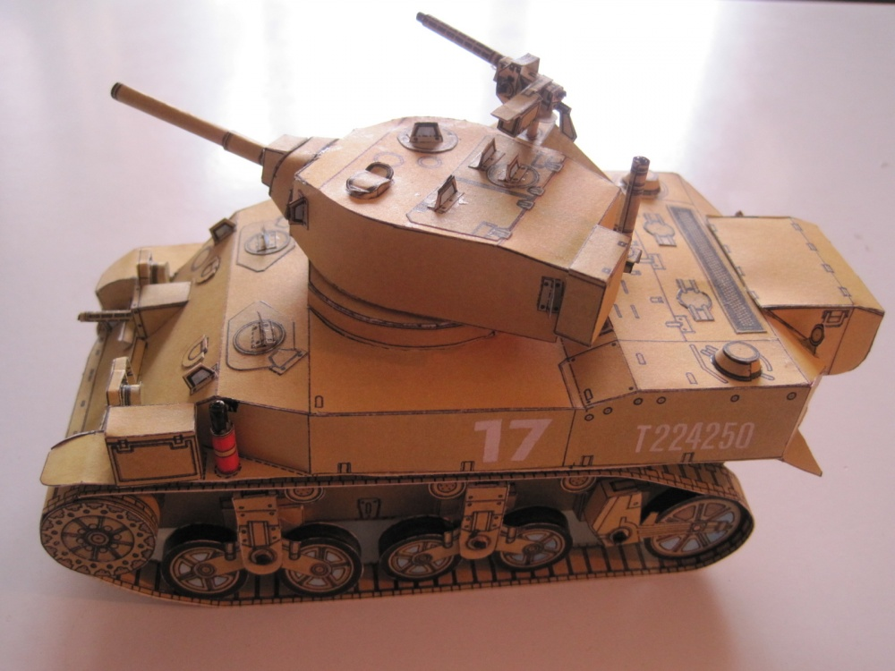 malý tank STUART