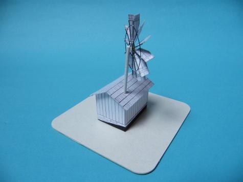 Malý turbínový veterný mlyn zo Svidníka