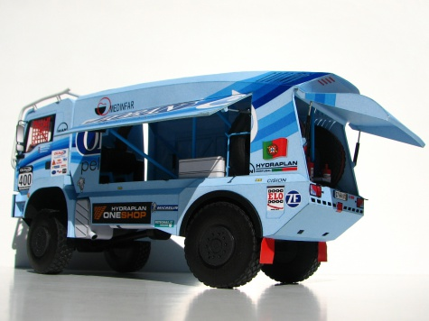 MAN TGS 18.480 4x4 Rally du Maroc 2013