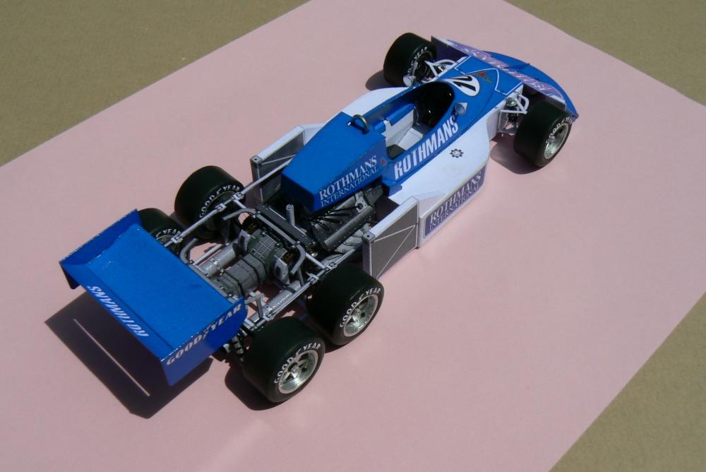 MARCH 2-4-0 Rothmans, Ian Scheckter-test version 1977