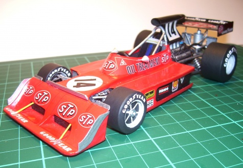 March 731G, Jeane-Pierre Jarrier, GP France, 1973