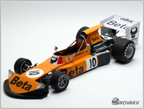 March 741 Ford, V. Brambilla, GP Dutch 1974 - beta