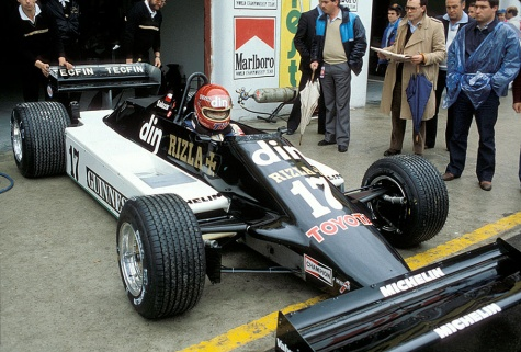 March 811 - Eliseo Salazar - GP San Marina 1981