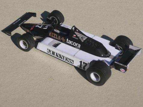 March 811 - Eliseo Salazar - GP San Marina 1981