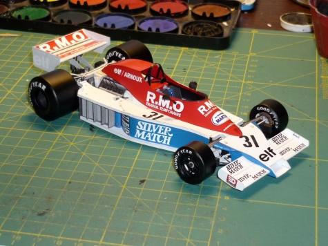 Martini MK23 - Rene Arnoux - Monako 78
