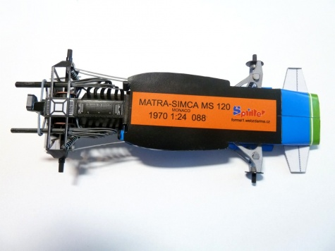 Matra MS120 H.Pescarolo VC Monaka ´70