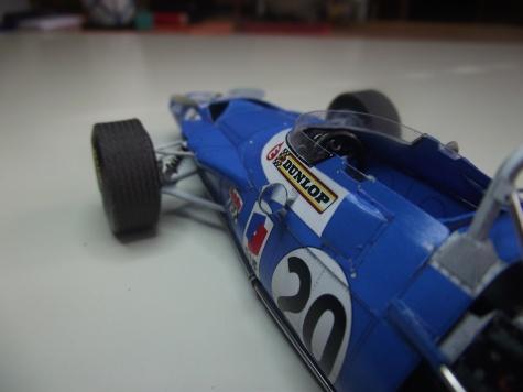Matra MS80 Italian GP, Monza 1969, J.Stewart